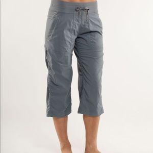 Lululemon grey dance studio crop pants